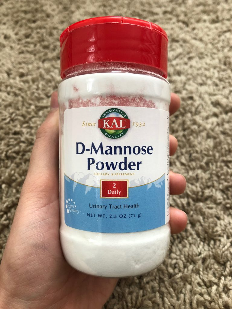 an image of the KAL D-Mannose Powder bottle